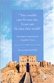 <b>Heß, Michael Reinhard.</b> Two worlds can fit into me, I can not fit into this world: Azerbaijan's immortal poet İmədəddin Nəsimi / M.R. Heß.- Münhen, 2019.- 259 p.- İngilis dilində.